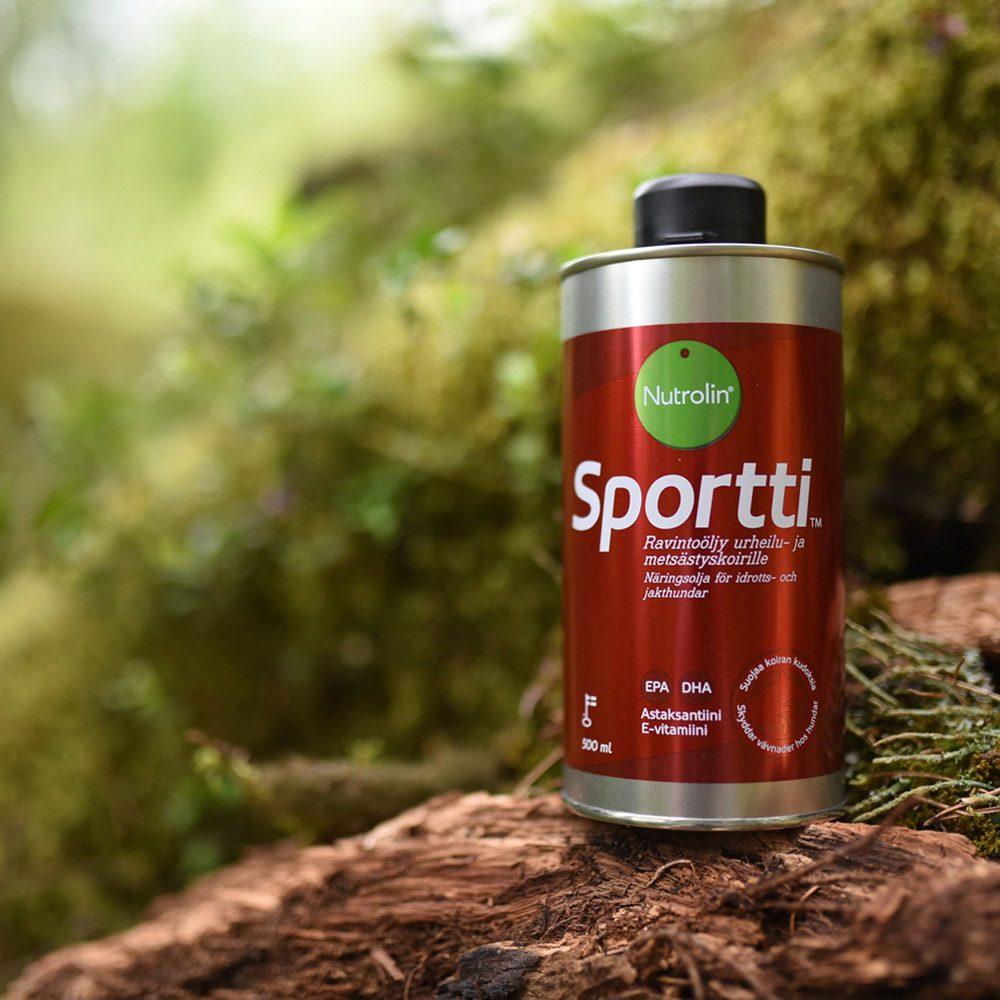 Nutrolin Sportti® ravintoöljy
